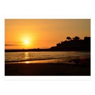 Sunset Lullabye Postcard