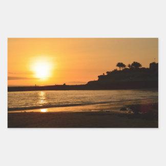 Sunset Lullabye Rectangular Sticker