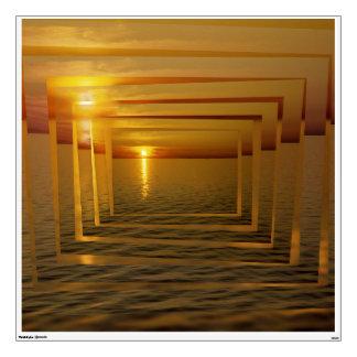 Sunset Madness Wall Sticker
