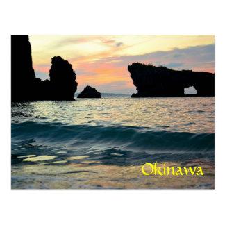 Sunset Maeda point Postcard
