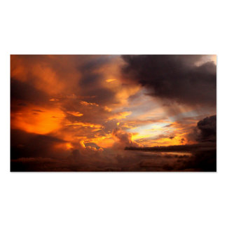 Sunset Magnificent Business Card