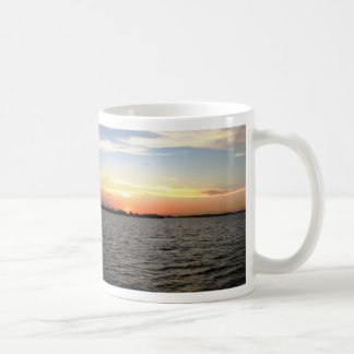 Sunset, Mangrove Cay, Belize Coffee Mug