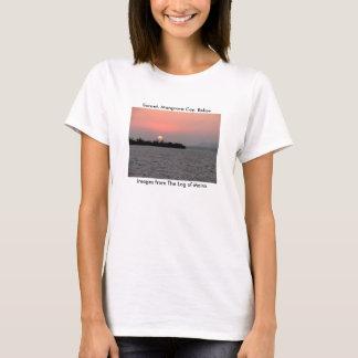 Sunset, Mangrove Cay, Belize T-Shirt
