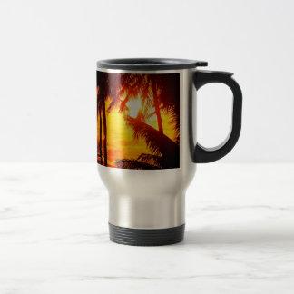 Sunset Maui Travel Mug