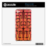 Sunset Maze - Abstract iPhone 4 Skins