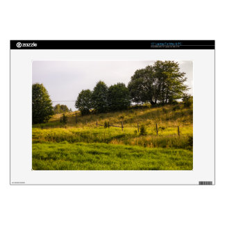 """Sunset Meadow Landscape Photograph Skin For 15"""" Laptop"""