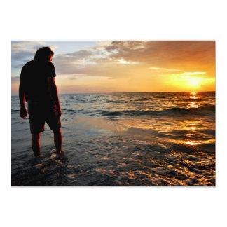 Sunset Meditation Card