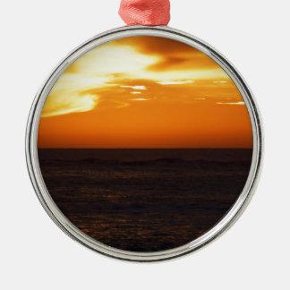 Sunset Metal Ornament