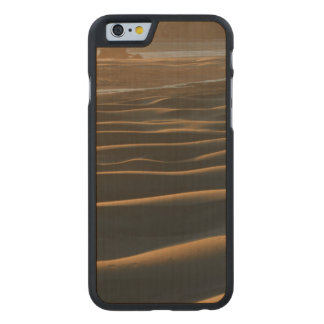 Sunset, Meyers Beach, Oregon, USA 2 Carved® Maple iPhone 6 Slim Case