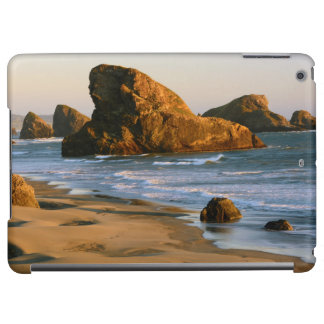 Sunset, Meyers Beach, Oregon, USA iPad Air Cover