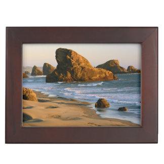 Sunset, Meyers Beach, Oregon, USA Keepsake Box