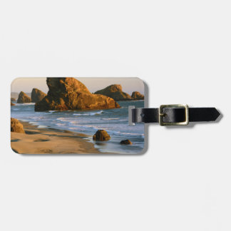 Sunset, Meyers Beach, Oregon, USA Luggage Tag