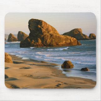 Sunset, Meyers Beach, Oregon, USA Mouse Pad