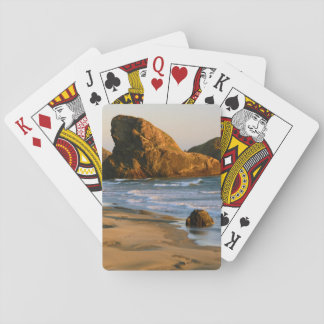 Sunset, Meyers Beach, Oregon, USA Playing Cards