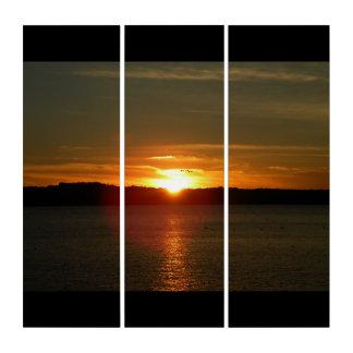 Sunset Migration 3 Panel Print