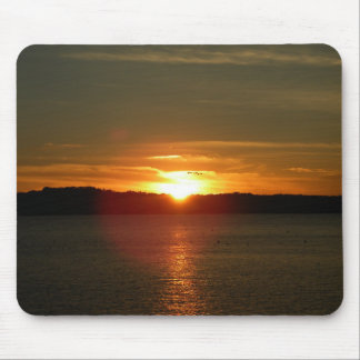 Sunset Migration Mouse Pad