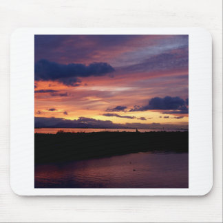 Sunset Miles Apart Mouse Pad