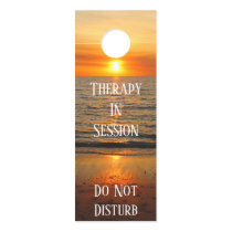 Sunset Mindil Beach - Therapy In Session Do Not Door Hanger