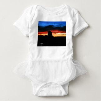 Sunset, Monument Valley, UT Baby Bodysuit