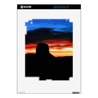Sunset, Monument Valley, UT Decal For iPad 2