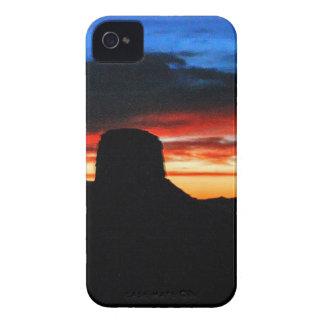 Sunset, Monument Valley, UT iPhone 4 Case