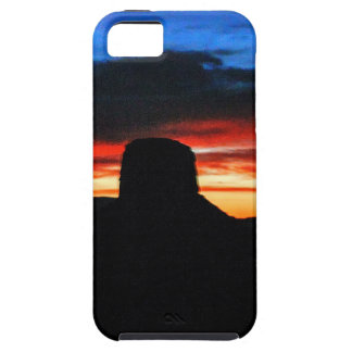 Sunset, Monument Valley, UT iPhone SE/5/5s Case