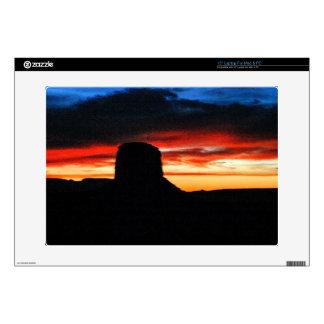 Sunset, Monument Valley, UT Laptop Skins