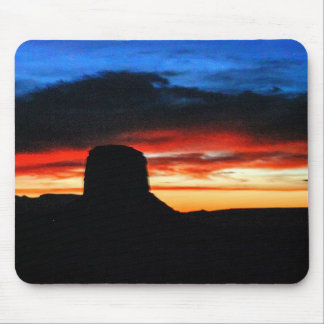 Sunset, Monument Valley, UT Mouse Pad