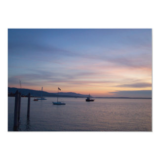 Sunset Moorage Card