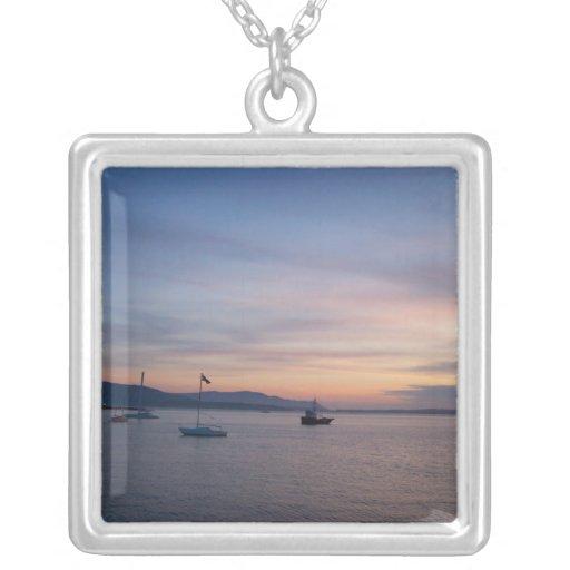 Sunset Moorage Custom Necklace