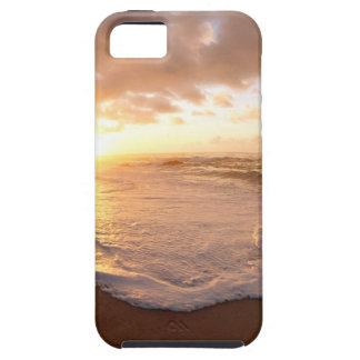 Sunset Moorea Island Polynesia iPhone 5/5S Covers