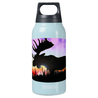 SUNSET MOOSE LIBERTY INSULATED WATER BOTTLE