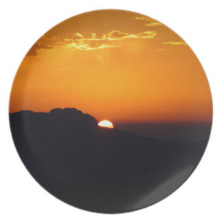 Sunset Moroccan Glow Dinner Plates
