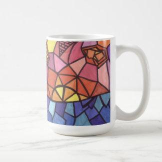 Sunset Mosaic Art Mug