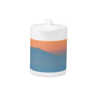 Sunset Mountain Teapot