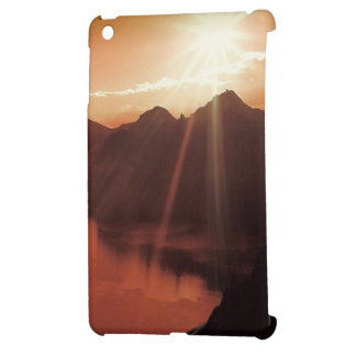 Sunset Mountains Lake Destiny Nature Case For The iPad Mini