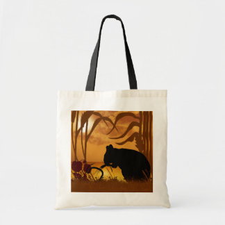 Sunset Mouse Bag Wheet Corn And flowers