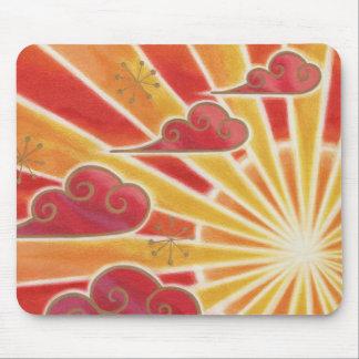 Sunset mousepad horizontal