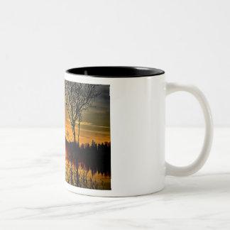 Sunset Two-Tone Mug