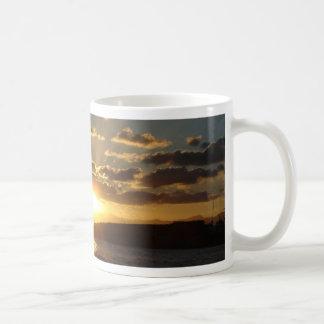 Sunset Classic White Coffee Mug