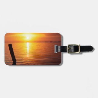 Sunset Mystic Everglades Luggage Tags