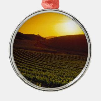 Sunset Napa Valley Ornaments