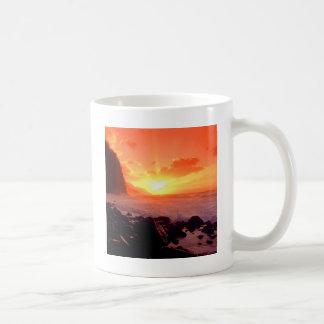 Sunset Napali Kauai Hawaii Coffee Mug
