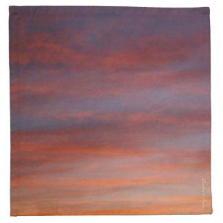 Sunset: Napkins