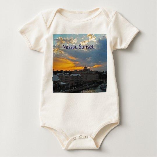 Sunset, Nassau Bahamas Baby Bodysuit