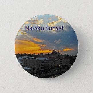 Sunset, Nassau Bahamas Button