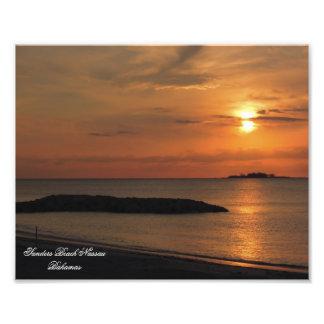 Sunset Nassau Bahamas Print