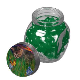 Sunset Nature Discovery Jelly Belly Glas Jar Jelly Belly Candy Jar