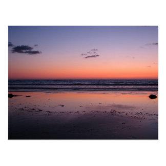 Sunset near San Diego Postcard