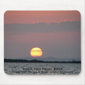 Sunset, New Haven, Belize Mouse Pad